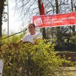 Werner Diedrichs erläuterte die Gefahren des Fracking