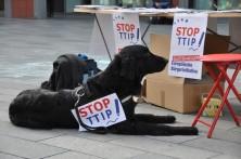 Alle helfen mit, Unterschriften für die sEBI gegen TTIP & Co. zu sammeln.