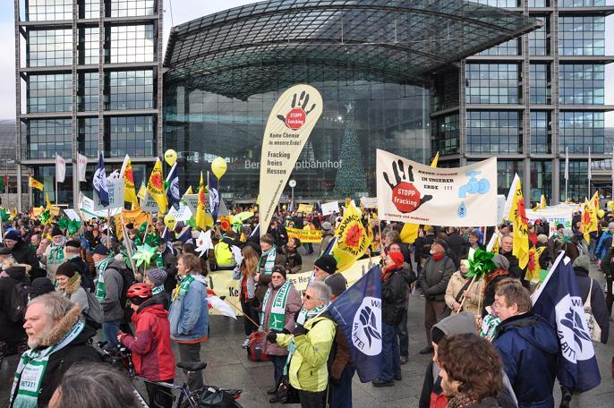Die BI FFH war auch bei der großen Energiewende-Demo in Berlin am 31.10.2013 dabei